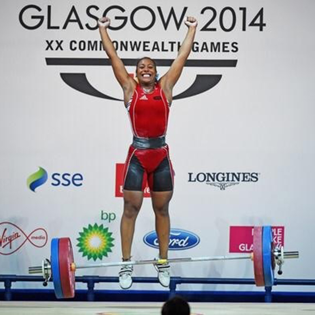 kristel ngarlem weightlifting crowdfunding