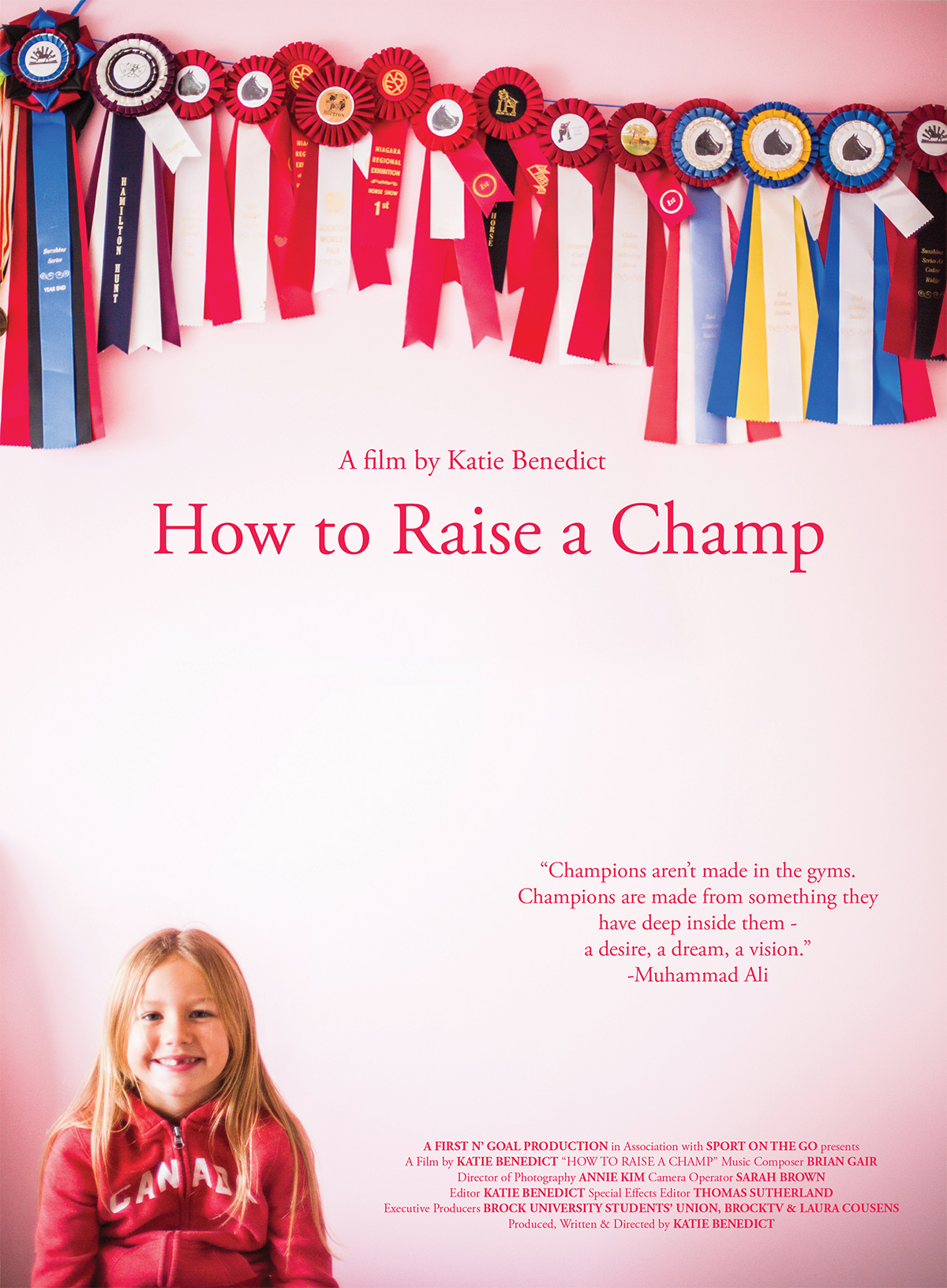 abby how to raise a champ poster