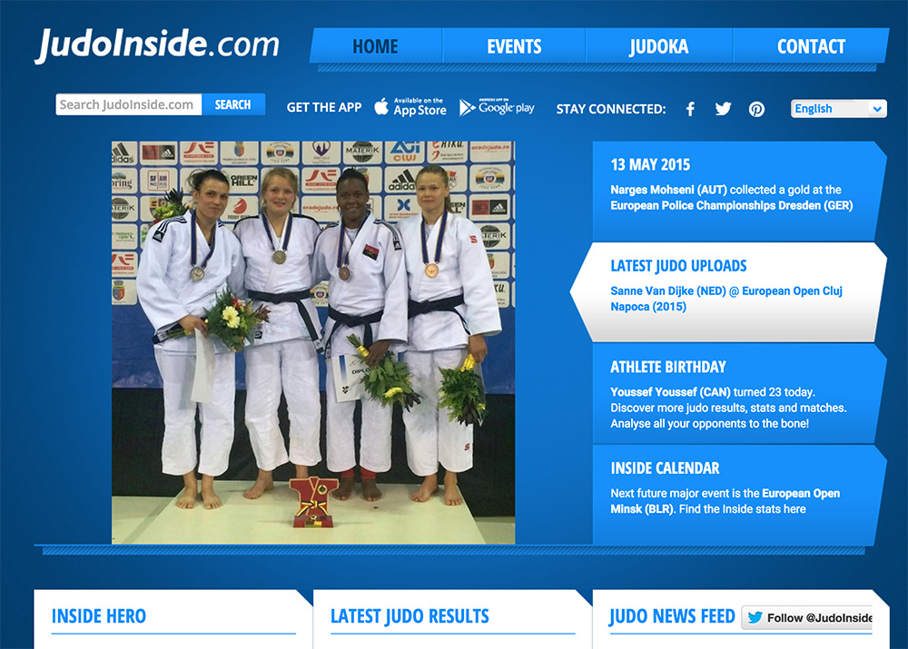 judoinside website